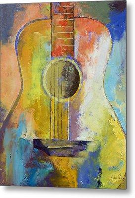 Guitar Melodies Metal Print by Michael Creese