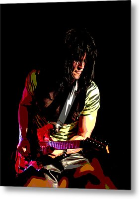 Guitar Shred Metal Print by James Hammen