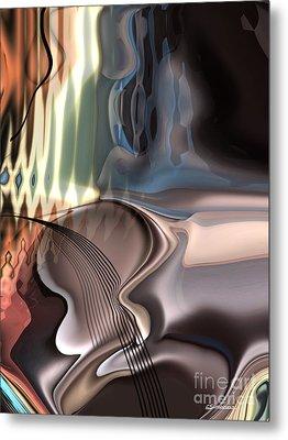 Guitar Sound Metal Print by Christian Simonian