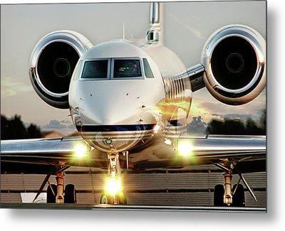 Gulfstream G550 Metal Print by James David Phenicie