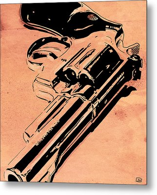 Gun Number 6 Metal Print by Giuseppe Cristiano
