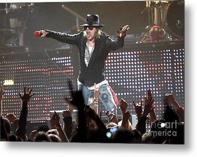 Guns N' Roses Metal Print by Concert Photos
