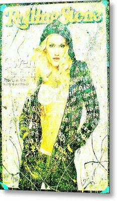 Gwen Metal Print by Chris Cloud