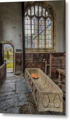 Gwydir Chapel Metal Print by Adrian Evans