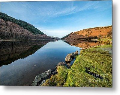 Gwydyr Forest Lake Metal Print by Adrian Evans