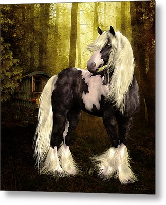 Gypsy Gold Metal Print by Shanina Conway