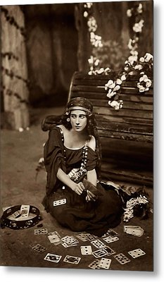 Gypsy Metal Print by Unknown