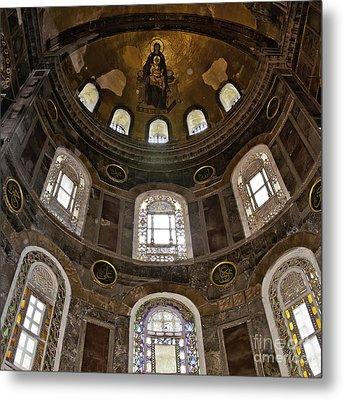 Hagia Sofia Interior 06 Metal Print by Antony McAulay