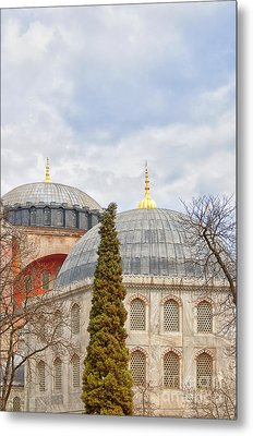 Hagia Sophia 11 Metal Print by Antony McAulay
