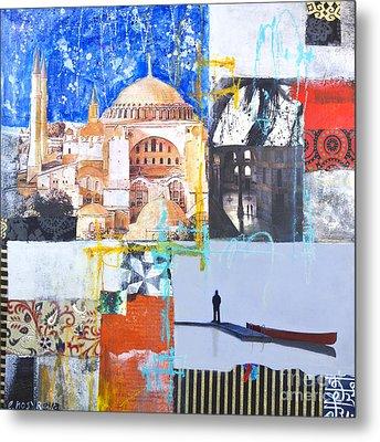 Hagia Sophia Istanbul Metal Print by Elena Nosyreva