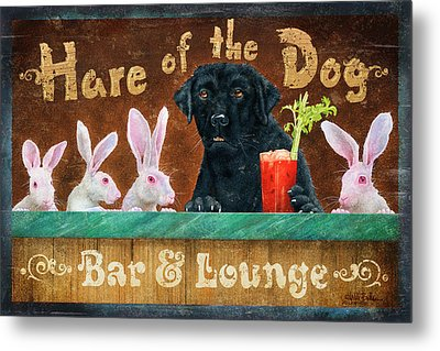 Hair Of The Dog Metal Print by JQ Licensing