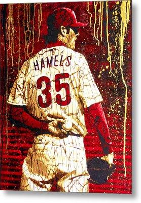 Hamels - The Executioner Metal Print by Bobby Zeik