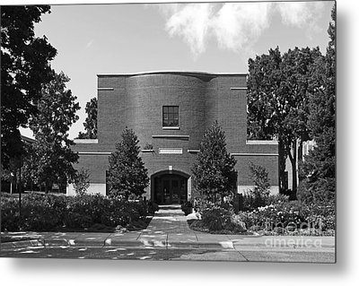 Hamline University Sundin Music Hall Metal Print by University Icons