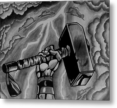 Hammer Of Thor Metal Print by Jeremy Moore