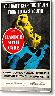 Handle With Care, Us Poster, Top Joan Metal Print by Everett