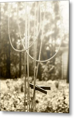 Hang It Up Metal Print by Kristie  Bonnewell