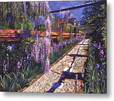 Hanging Garden Metal Print by David Lloyd Glover