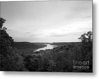 Hanover College Ohio River View Metal Print by University Icons