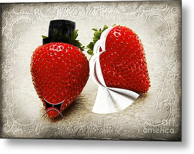 Happily Berry After Metal Print by Andee Design
