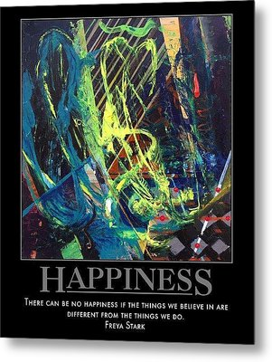Happiness Sold Metal Print by Sylvia Greer