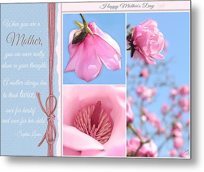Happy Mother's Day Metal Print by Lisa Knechtel