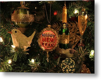 Happy New Year  Metal Print by Donna Kennedy