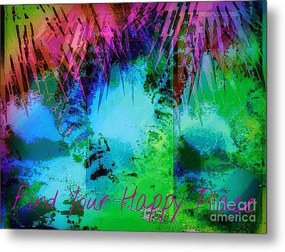 Happy Place 1 Metal Print by Michelle Stradford