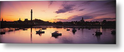 Harbor Cape Cod Ma Metal Print by Panoramic Images