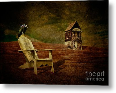 Hard Times Metal Print by Lois Bryan