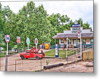 Hardy Station Metal Print by Audreen Gieger-Hawkins