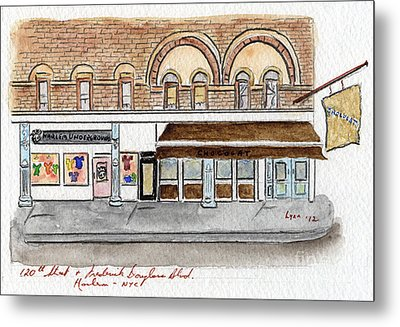 Harlem Underground And Chocolat In Harlem Metal Print by AFineLyne