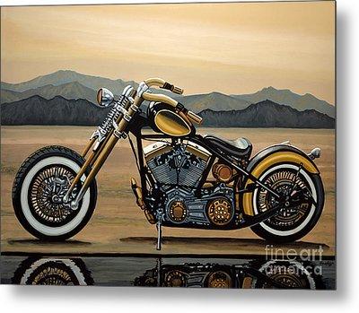 Harley Davidson Metal Print by Paul Meijering
