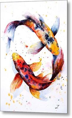 Harmony Metal Print by Zaira Dzhaubaeva