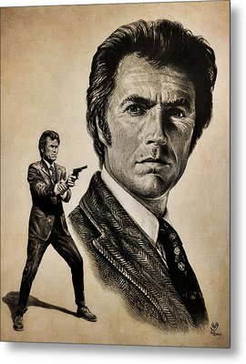 Harry Callahan  Tan Version Metal Print by Andrew Read