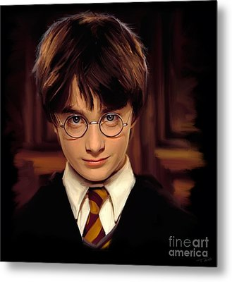 Harry Potter Metal Print by Paul Tagliamonte