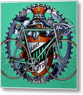 Harry Quinn Metal Print by Mark Howard Jones