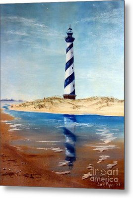 Hatteras Lighthouse Metal Print by Lee Piper