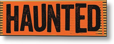 Haunted Metal Print by Katie Doucette