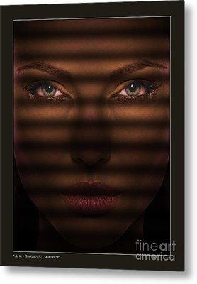 Haunting Eyes Metal Print by Pedro L Gili