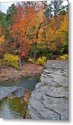 Haw Creek Fall 2 Metal Print by Marty Koch