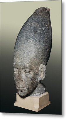 Head Of Amenemhat I. 1991 -1962 Bc Metal Print by Everett