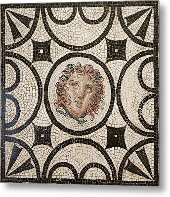 Head Of Medusa Metal Print by Unknown