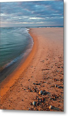 Head Of The Meadow Beach, Cape Cod Metal Print by Jerry and Marcy Monkman