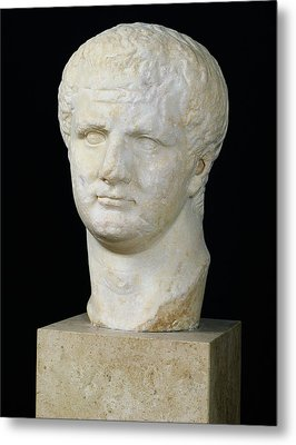 Head Of Titus Metal Print by Anonymous