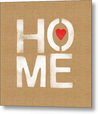 Heart And Home Metal Print by Linda Woods