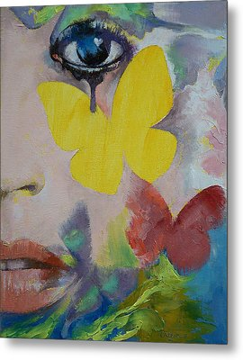 Heart Obscured By The Moon Metal Print by Michael Creese