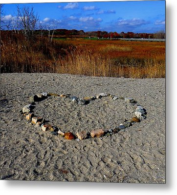 Heart Of Stone Metal Print by Stephen Melcher