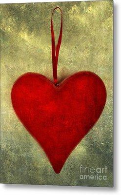 Heart Shape Metal Print by Bernard Jaubert