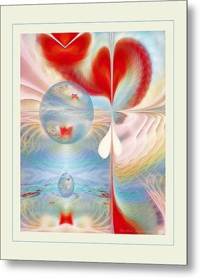 Heartbeat Metal Print by Gayle Odsather
