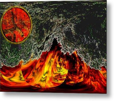 Heatwave Metal Print by Wendy J St Christopher